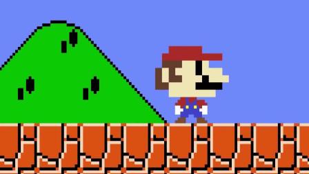 超级玛丽:马里奥得到了一个巨大的蘑菇,接下来会发生什么呢
