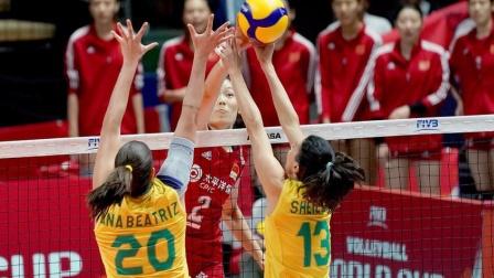 2019女排世界杯 中国vs巴西(全场中文)