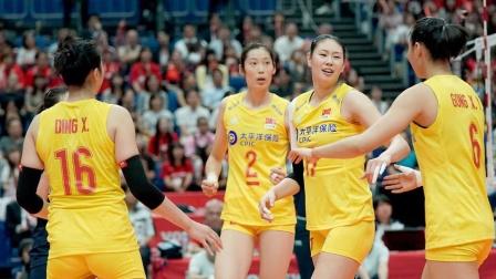 2019女排世界杯 中国vs日本(全场中文)