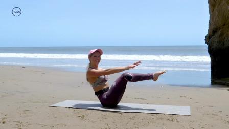 45分钟普拉提运动 有氧热身和瑜伽放松