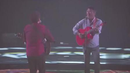 李宗盛周华健同台献唱《我有话要说》,不愧是乐坛高手,非常好听