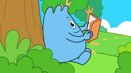 咕力咕力:斑马的条纹 斑马的条纹有什么用呢,动画科普动物知识