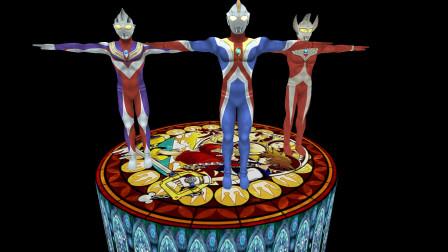 GMOD游戏三个奥特曼真的可以锻炼超强法力吗?