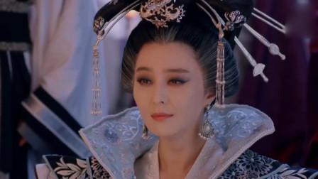 武媚娘传奇:太子李显真怂,本要逼媚娘殉葬,媚娘一开口吓得直后退!