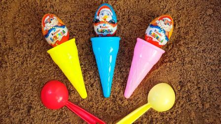 黏土创意DIY水果冰淇淋,儿童色彩认知萌宝识颜色数字分享礼物啦