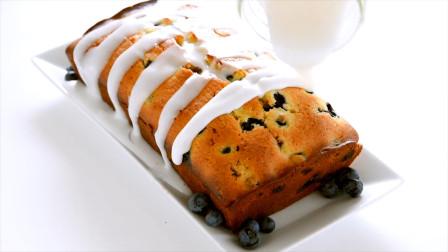 2分钟就能学会超好吃的网红蓝莓牛奶面包,比面包店做的还要好吃