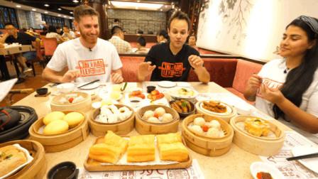 吃货老外带百万粉丝代表体验粤菜,传播中国美食文化!