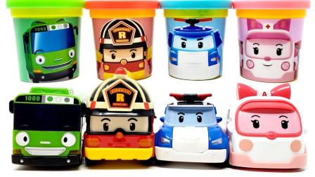 变形警车珀利警车 珀利安巴罗伊海利汽车玩具车合集