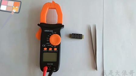万用表怎么测量数码管的好坏?12个针脚怎么分布?哪个是共极?