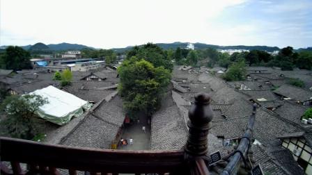 自驾游阆中古城:中天楼景点全记录,影像资料系列