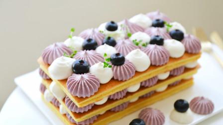 蓝莓酸奶 裸蛋糕(附自制希腊酸奶方法)
