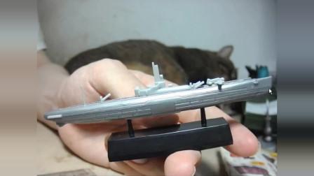 4D 舰船 伊400(58)潜艇 拼装玩具模型 闲谈