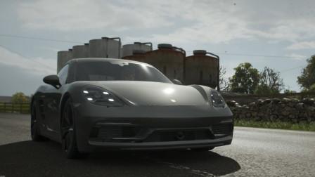 地平线4 季节赛 驾驶保时捷卡曼GT4在城市狂飙 试驾2018款保时捷718卡曼GTS