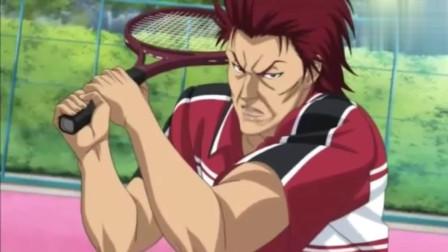 新网球王子:龙马被虐时刻,龙马发球被打回,球速快龙马毫无反应