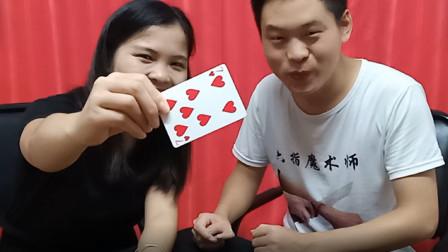 绝对不可能的魔术,观众随便想牌和数字,魔术师都能知道!