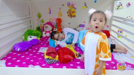 玩具梦工厂 芭比娃娃 宝贝女儿照顾辛苦的妈妈