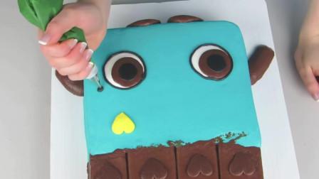 超级另类的翻糖蛋糕制作流程,这才是真正的艺术家