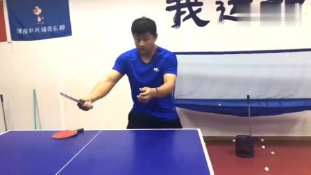 乒乓球教学!反手台内拧拉下旋球技巧讲解,你学会了吗?