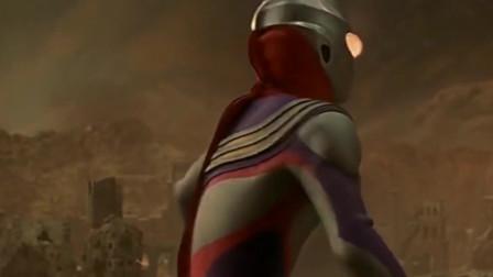 迪迦为救女神丽娜被黑暗女皇击中,使出燃爆一击结局?