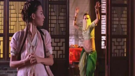 河东狮吼:女神张柏芝去青楼抓古天乐,不料最后竟下不了手打他!
