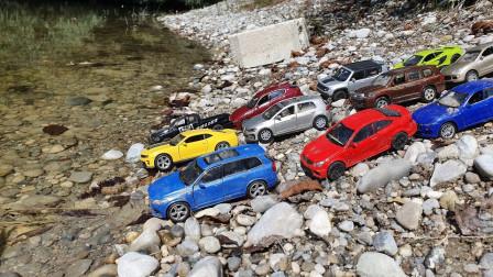 是谁派出这几十辆玩具车?仅为了开到水中就不走了?为何?