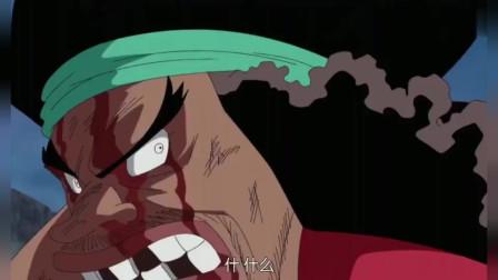 海贼王:黑胡子靠震震果实接住了战国一击,卡普也加入了战场!