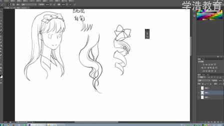 [绘画]齐刘海发型绘画方法大全