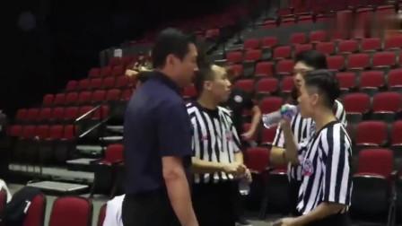 李春江教练澳门邀请赛赛后怒怼裁判你们好好吹啊都是中国人