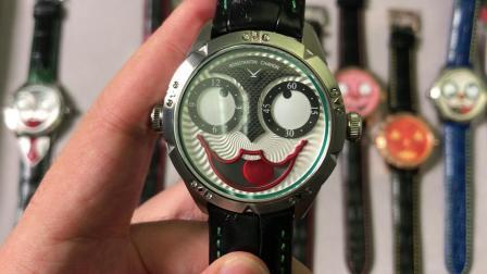 TW俄罗斯小丑V3版本真实月相功能 最对版的俄罗斯小丑 时利表业