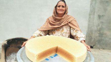 印度老奶奶-牛奶蛋糕食谱