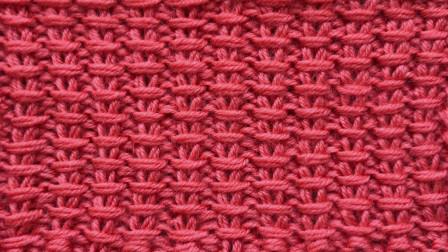 一款精致立体的棒针花样,简单好学,给儿童织外套很帅气编织花样大全图