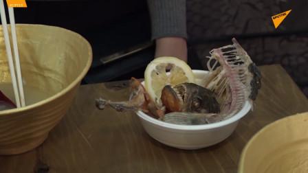 日本东京推出食人鱼拉面 太抢手限量供应