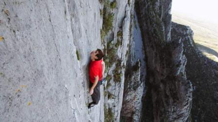 奥斯卡最佳纪录片《徒手攀岩》,一场关乎生死的挑战,看完给跪了