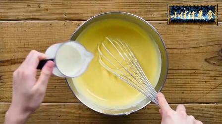 美食分享,零失败的轻乳酪蛋糕,入口轻盈,香甜不腻,好吃到幸福感爆棚