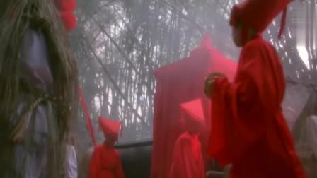 林正英最经典的一段鬼片,出殡鬼队伍与冥婚鬼队伍相遇,配乐满分