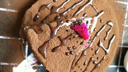 可可蛋糕这样做,切开把老婆馋坏了,真好吃!