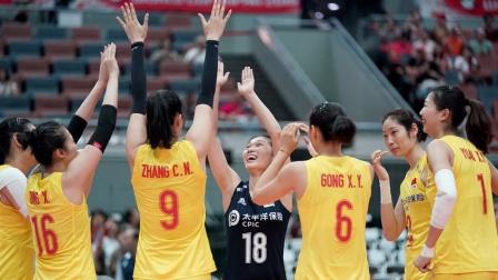 2019女排世界杯 中国vs塞尔维亚(全场中文)