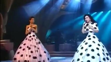 梅艳芳与徐小凤一曲《似水流年》,两位巨星同台演绎,太经典了!