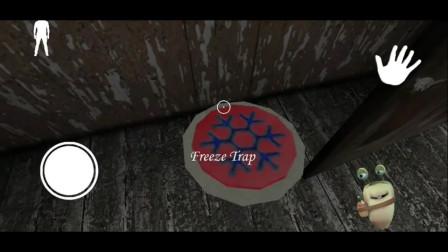 恐怖游戏:冰冻铁饼的副作用,就是把人冻成冰棍