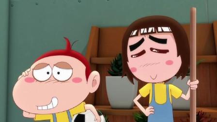 阿优之神奇萝卜:阿美居然原谅了胖子,这下把阿优和胖子感动哭了