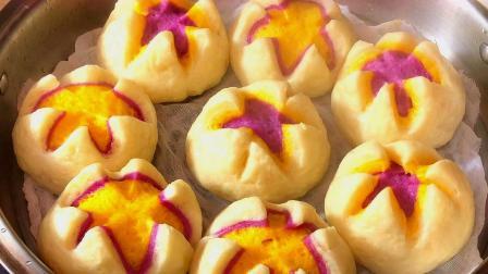 南瓜、紫薯这样做最好吃,暄软香甜,一次吃5个都不够