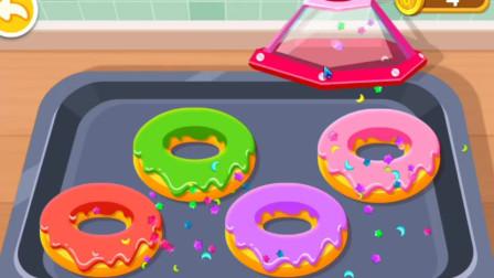 奇妙咖啡餐厅 宝宝巴士 一起做三明治甜甜圈冰淇淋 亲子早教益智游戏 情商培养