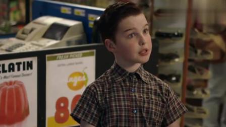 少年谢尔顿:谢尔顿买东西都要买一对的,爸爸偷看儿子有线电视