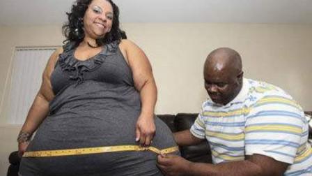 全球最大的臀围,周长超过240公分,丈夫婚后表示很幸福