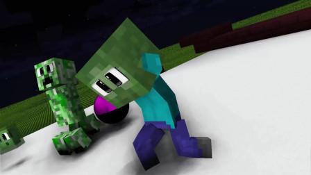 我的世界动画-怪物幼儿园-小星星之歌-MechanicZ BABY Monsters