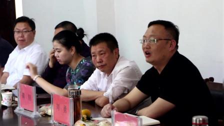 孟塘镇召开九九重阳节座谈会.