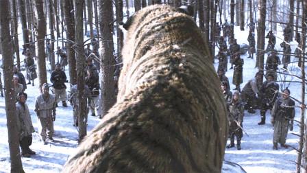 日本军猎杀老虎,带虎皮回国当标本,不料虎王太猛,将他们团灭