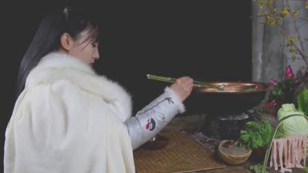李子柒做四川火锅,油管网友:我们边看边流口水,什么叫鸳鸯锅?