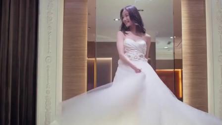 新娘大作战:Angelababy不适合这件婚纱!倪妮试穿后美呆了
