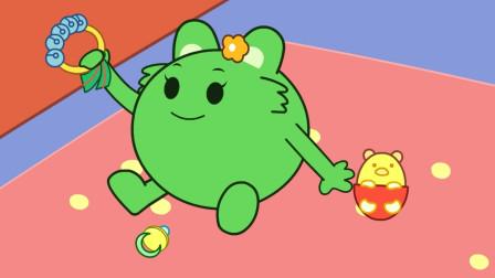 咕力咕力:不摔奶瓶 绿咕力学会不扔东西,帮助家长解决最头疼问题